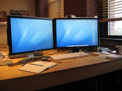 dual-dell-screens