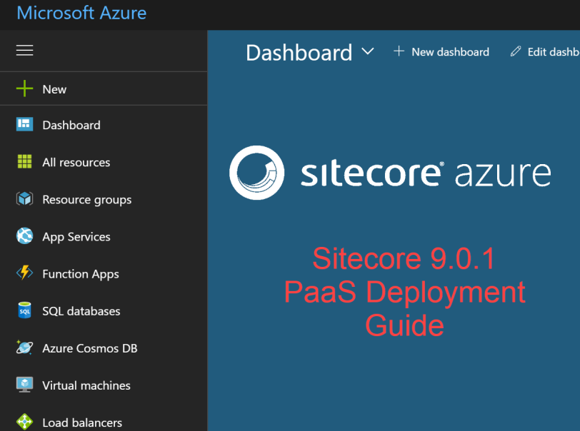 sitecore paas deployment